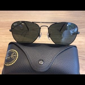 Ray ban aviators 3025 sunglasses 58mm